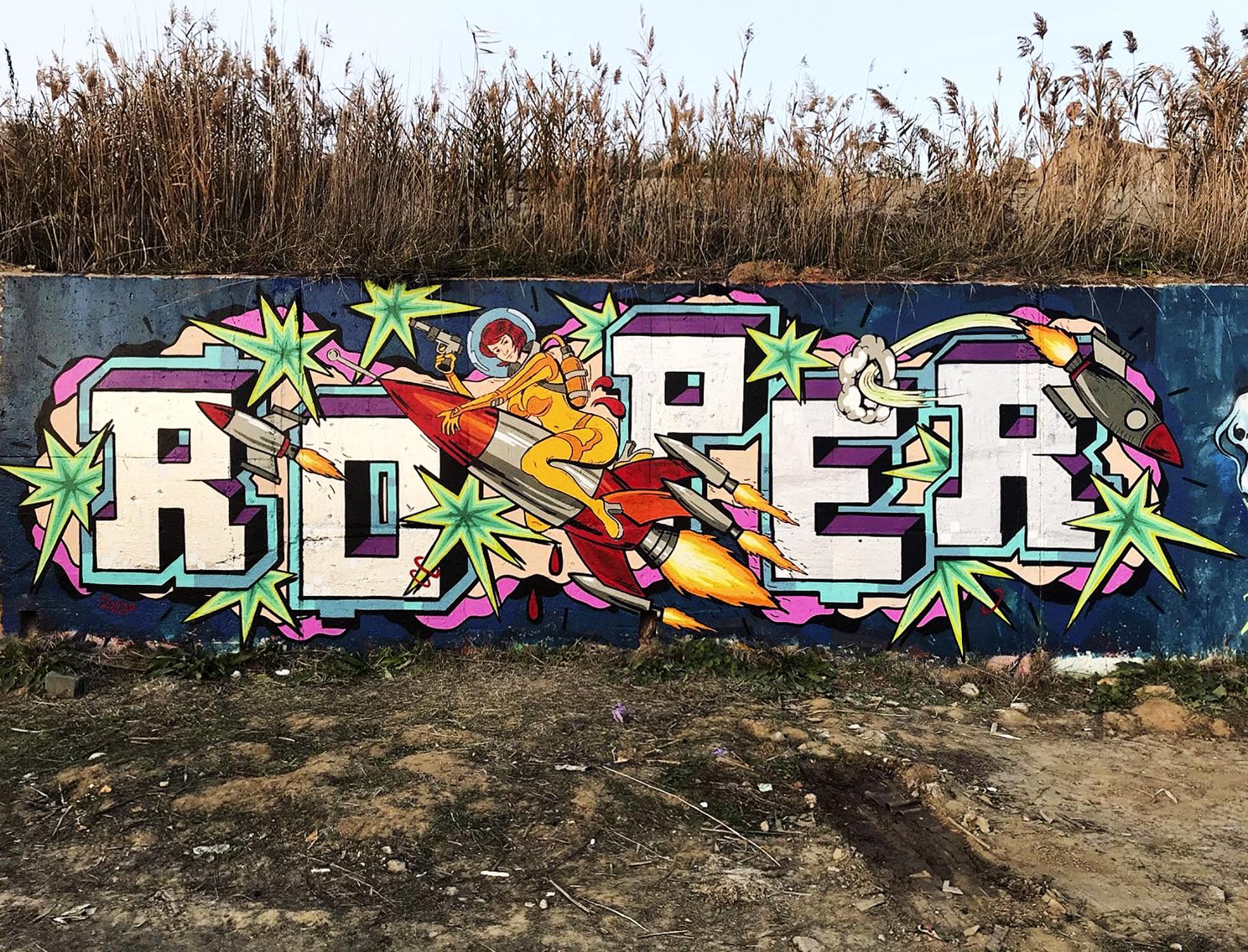 roper  spotlight on romanian graffiti writer • feederro