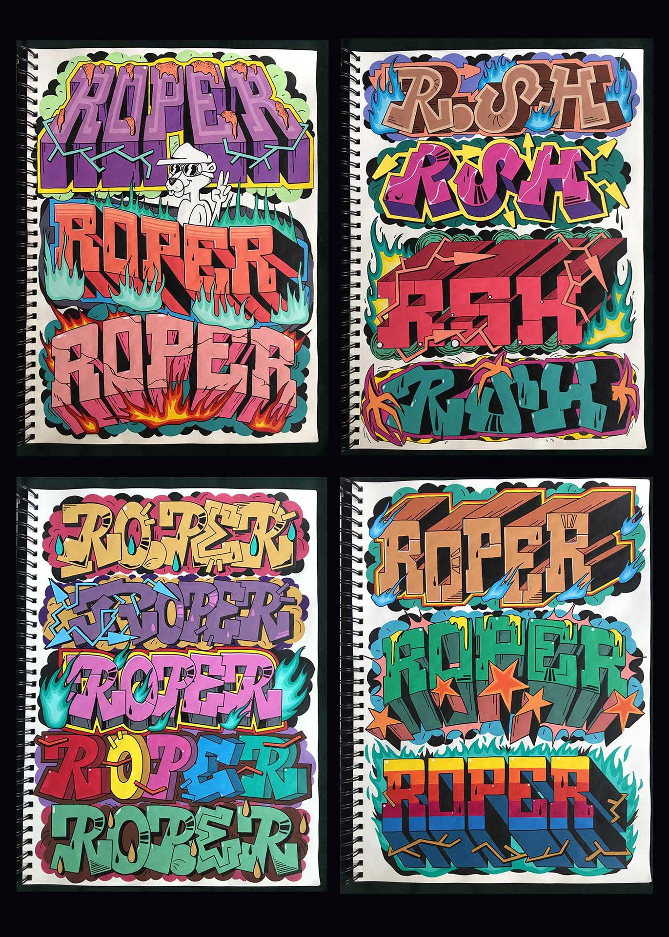 Roper Sketchbook 2020