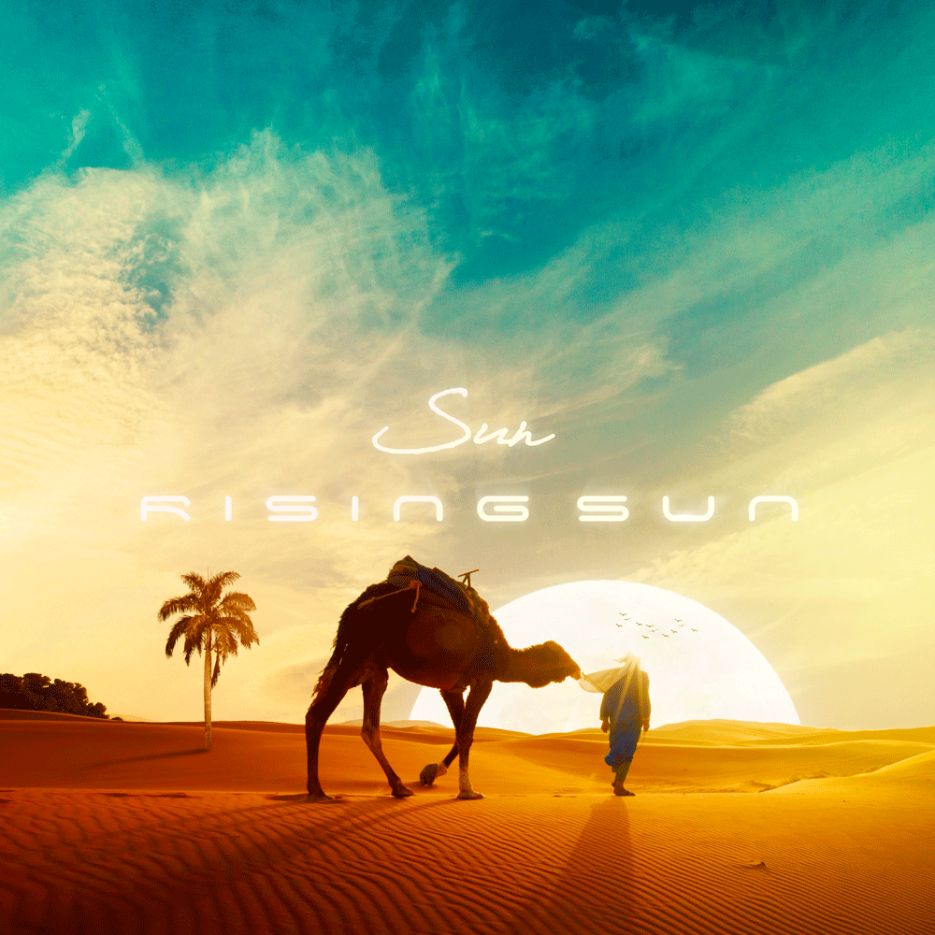"INHALE Records introduces a new work by SUN, from Tel Aviv, titled ""Rising Sun"""