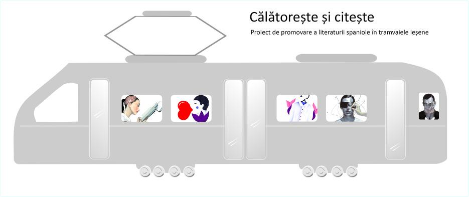 Călătoreşte şi...citeşte! Proiect de promovare a literaturii spaniole în tramvaiele din Iaşi