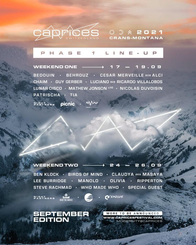 Caprices Festival 2021