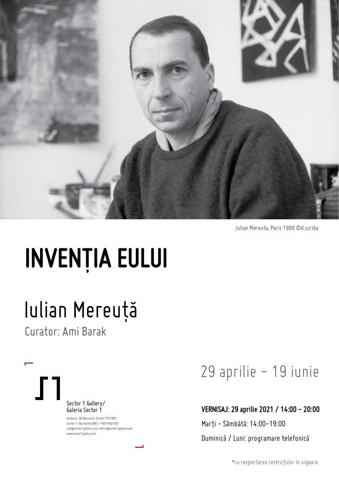 Vernisaj Iulian Mereuță - Invenția eului, curator Ami Barak