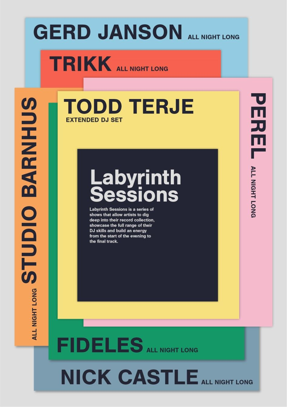 Labyrinth Announces Seven 'Sessions Series' Shows across London w/ Axel Boman, Gerd Janson, Todd Terje