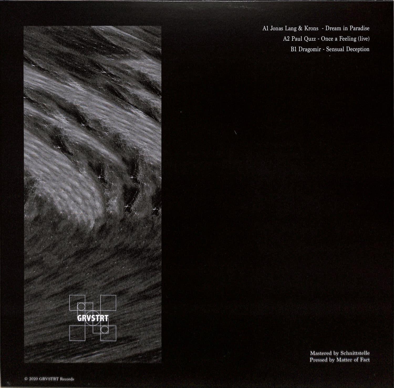 VA (Jonas Lang & Krons, Paul Quzz, Dragomir) - GROOVESTREET 001 [GRVSTRT Records]