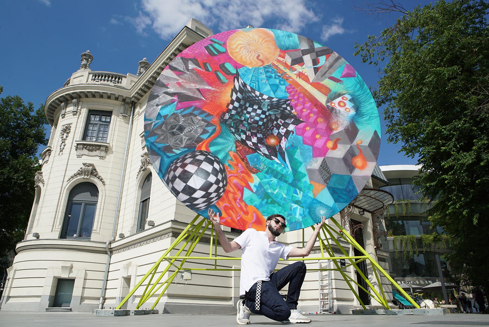 Art for Air - Obie Platon, Romanian Design Week, IQOS