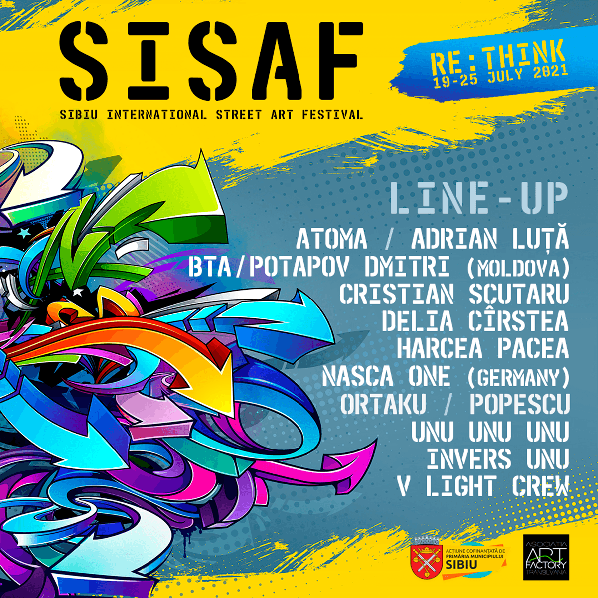 Line up SISAF 2021