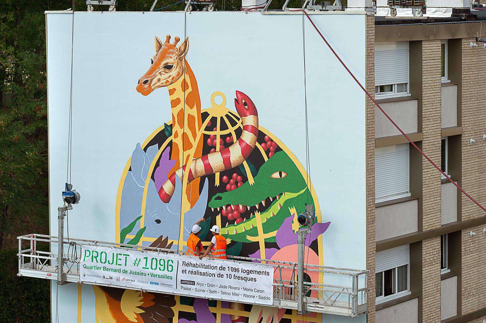 Mural Versailles de SADDO