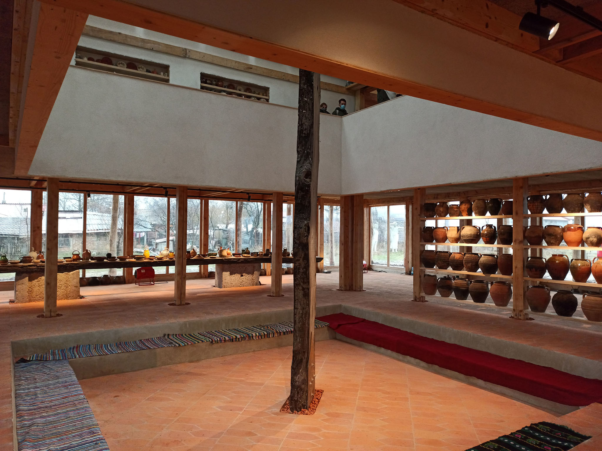 Muzeul Oalelor De Pisc de ABRUPTARHITECTURA