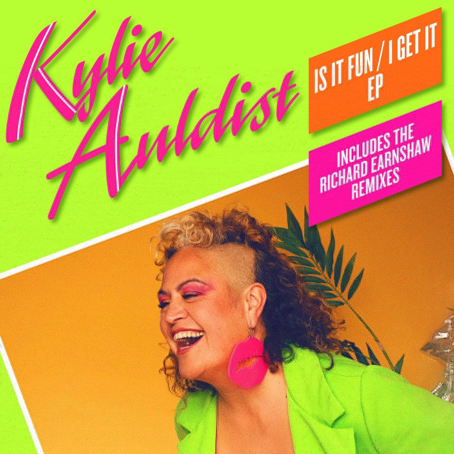 Kylie Auldist- Is It Fun / I Get It EP (Incl. Richard Earnshaw & The Waz Mixes) [Soul Bank Music]