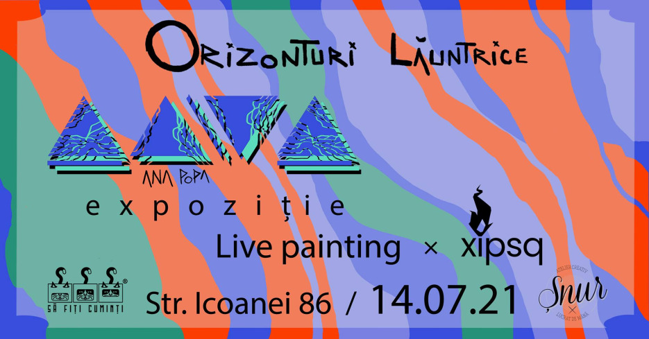 Ana Popa - Orizonturi lăuntrice - Live Painting x Skip