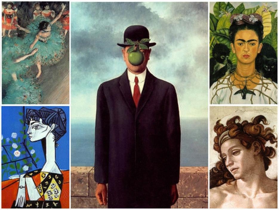 50 de capodopere ale Artei europene