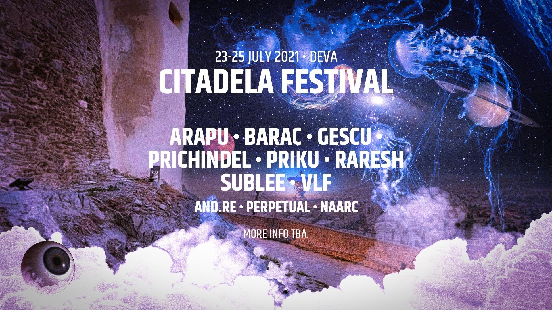 Citadela Festival 2021 - line up