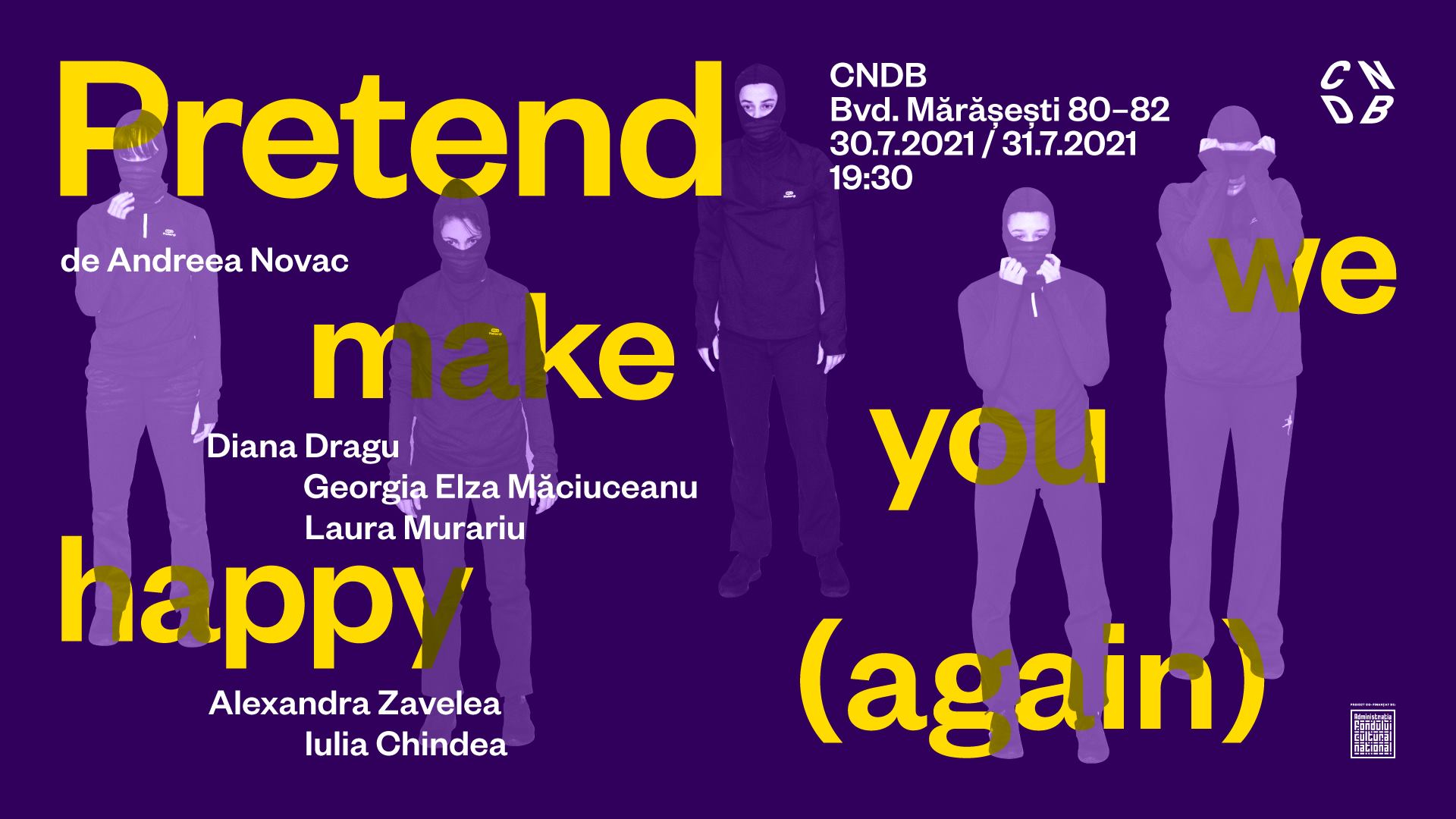 Premieră: Pretend we make you happy (again) - de Andreea Novac