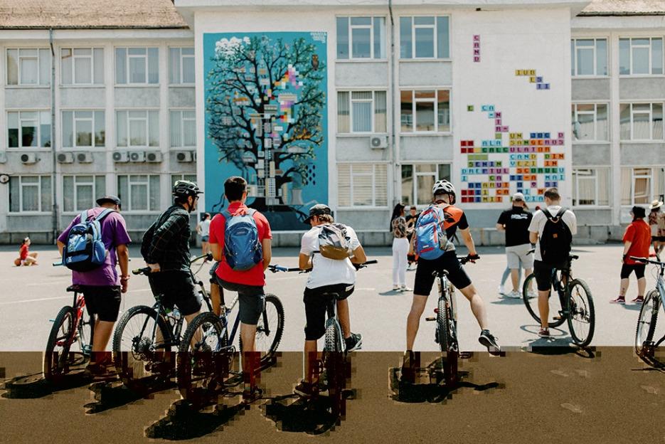 10 noi picturi murale de la SISAF, ce însumează 1.900 metri pătrați, devin parte din bogata identitate culturală a Sibiului