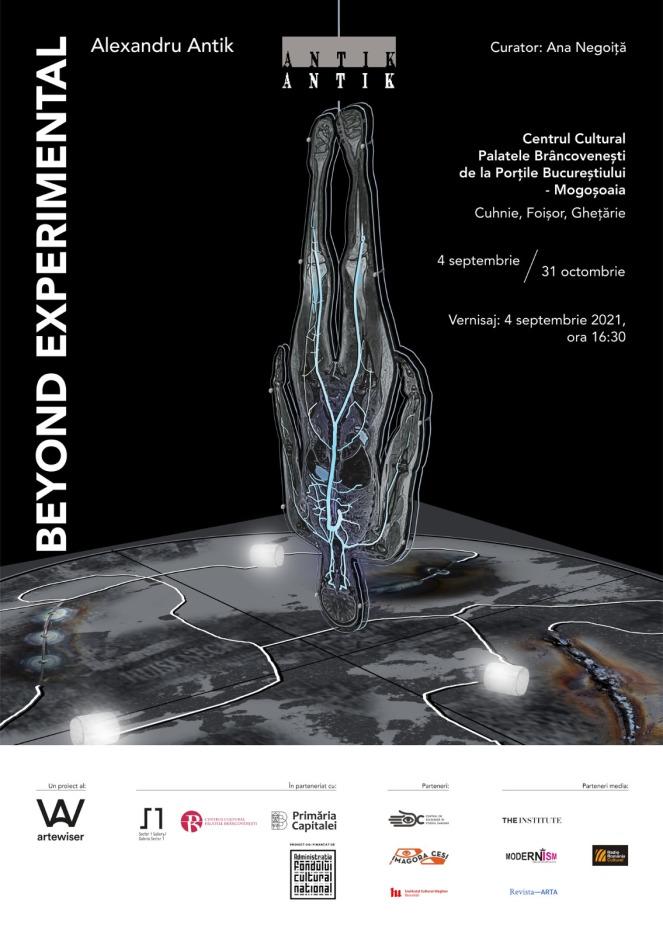 Alexandru ANTIK: Beyond Experimental, la Centrul Cultural Palatele Brâncovenești de la Porțile Bucureștiului – Mogoșoaia