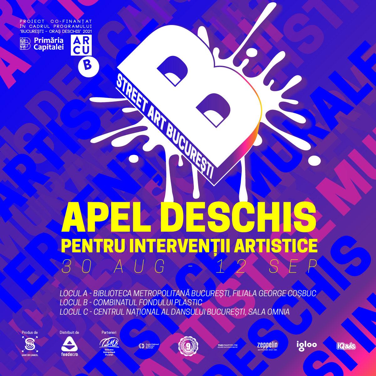 Apel Deschis Street Art București