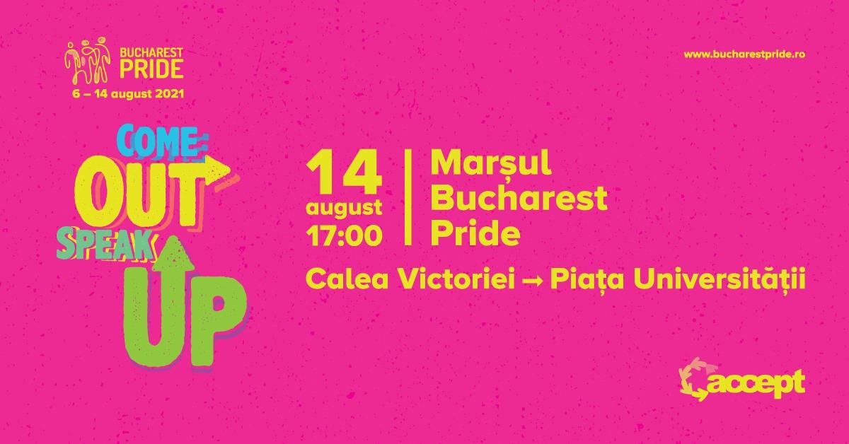 Marșul Bucharest Pride // Bucharest Pride 2021