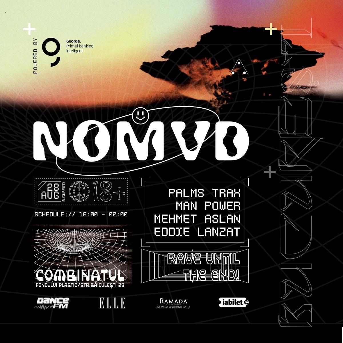 NOMVD, the post-apocalyptic rave