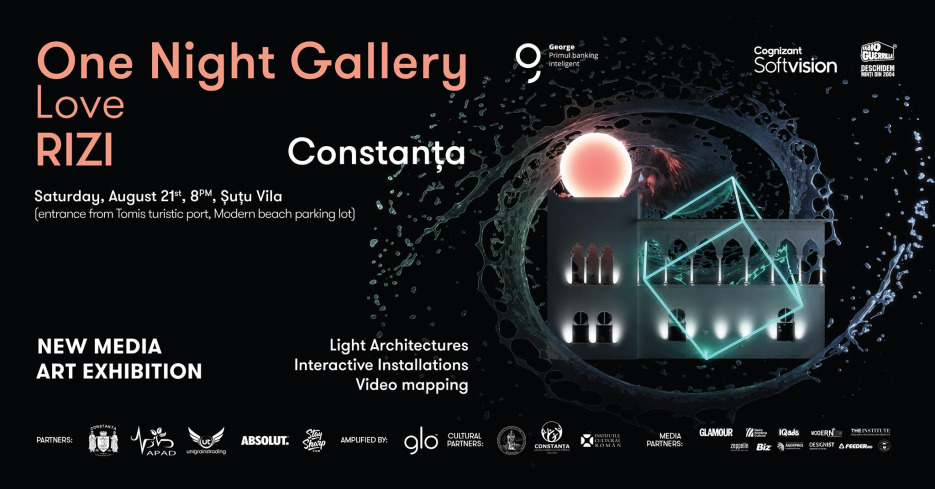 One Night Gallery Love RIZI la Vila Șuțu din Constanța