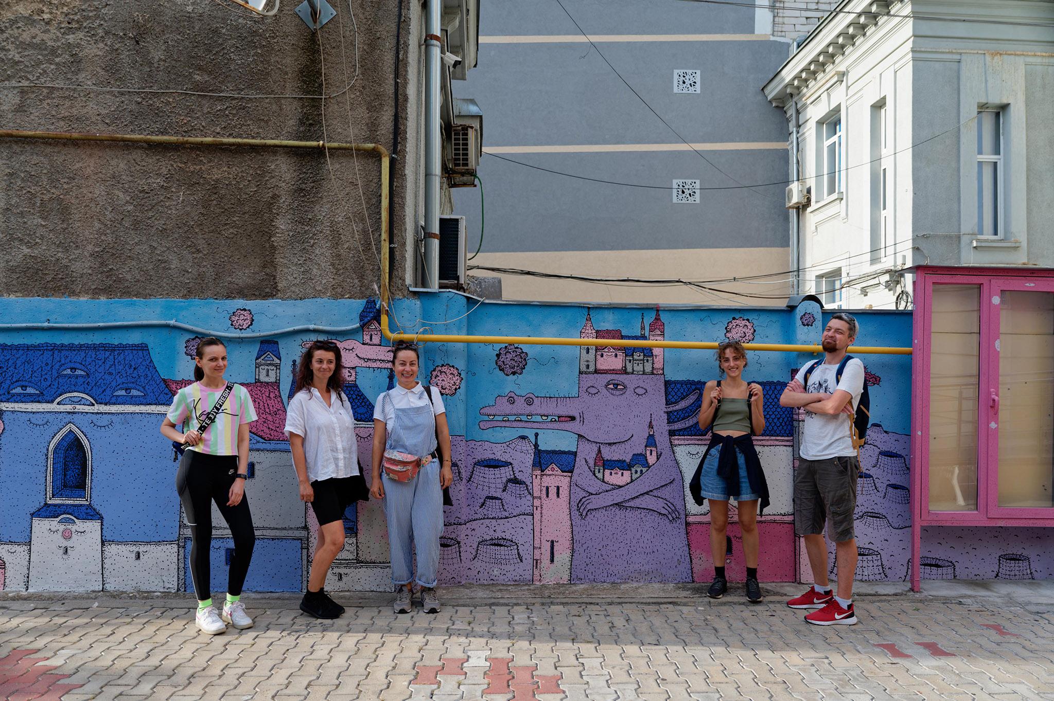 Tur ghidat Street Art Bucuresti 18 Septembrie