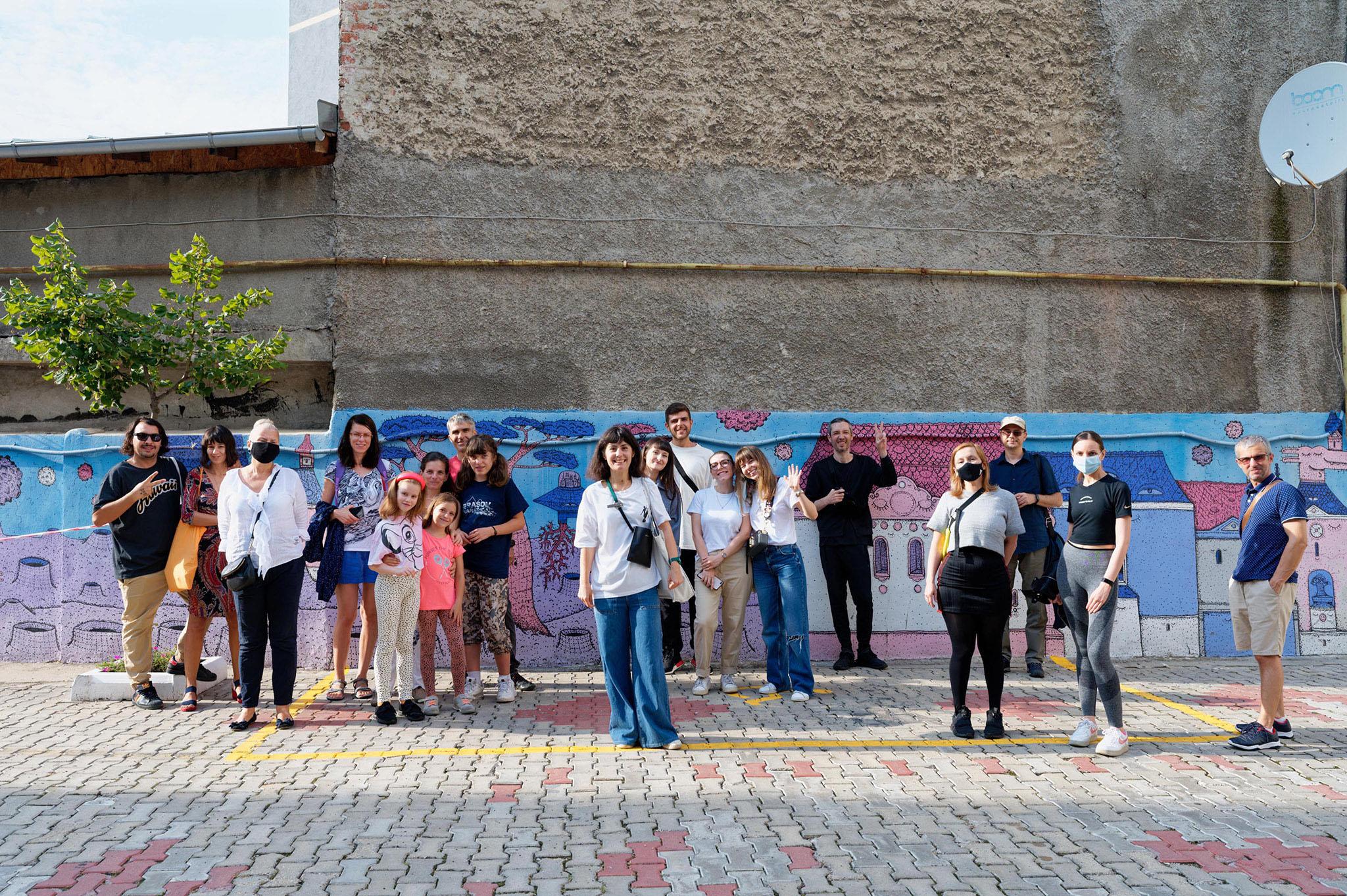 Tur ghidat Street Art Bucuresti 29 August