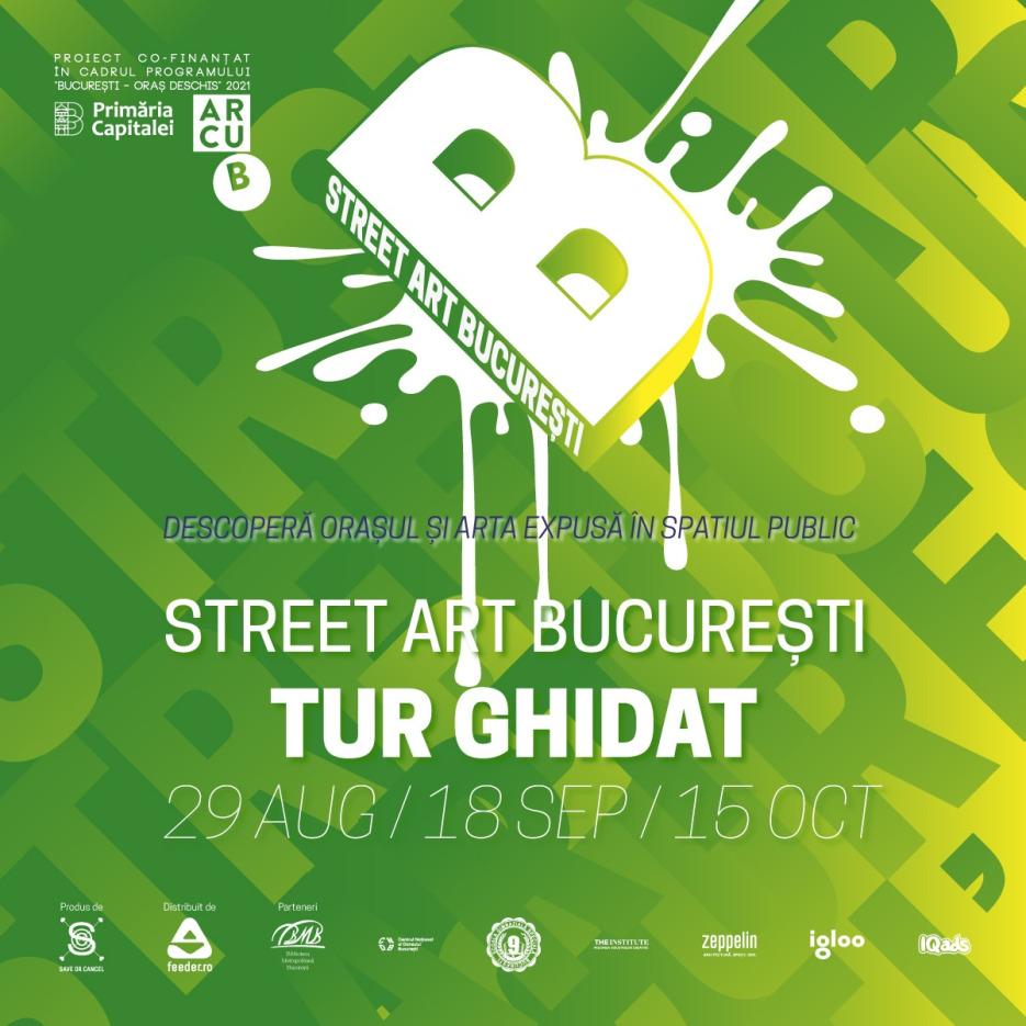 tururile ghidate Street Art București