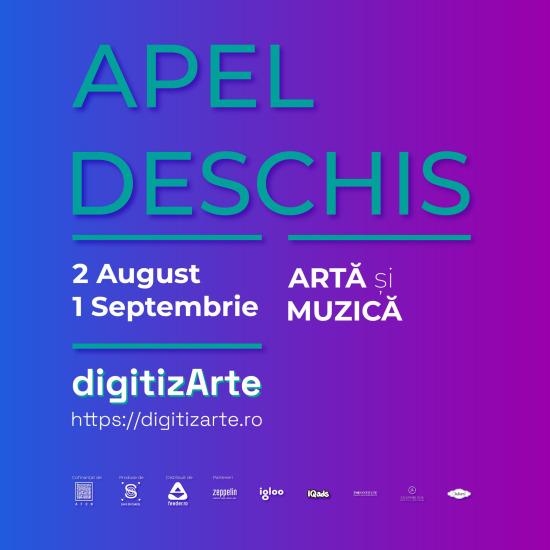 digitizArte grafica apel deschis