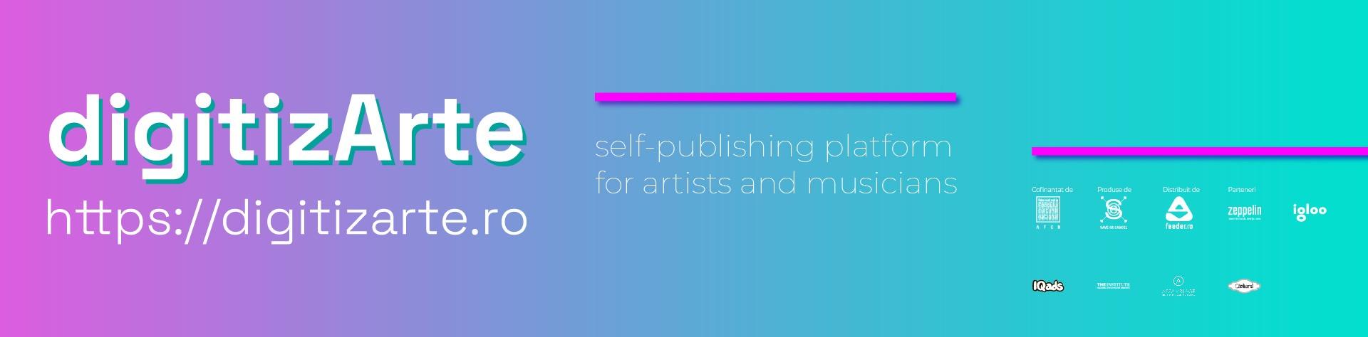 digitizArte self-publishing platform https://digitizarte.ro