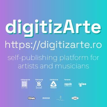 digitizArte.ro self-publishing platform