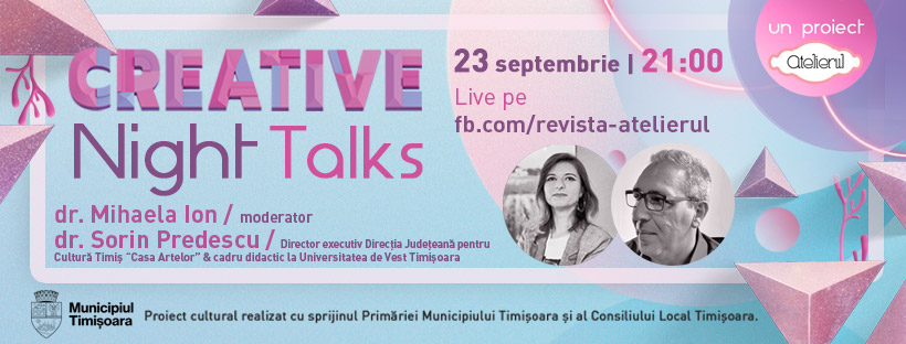 Creative Night Talks cu Sorin Predescu
