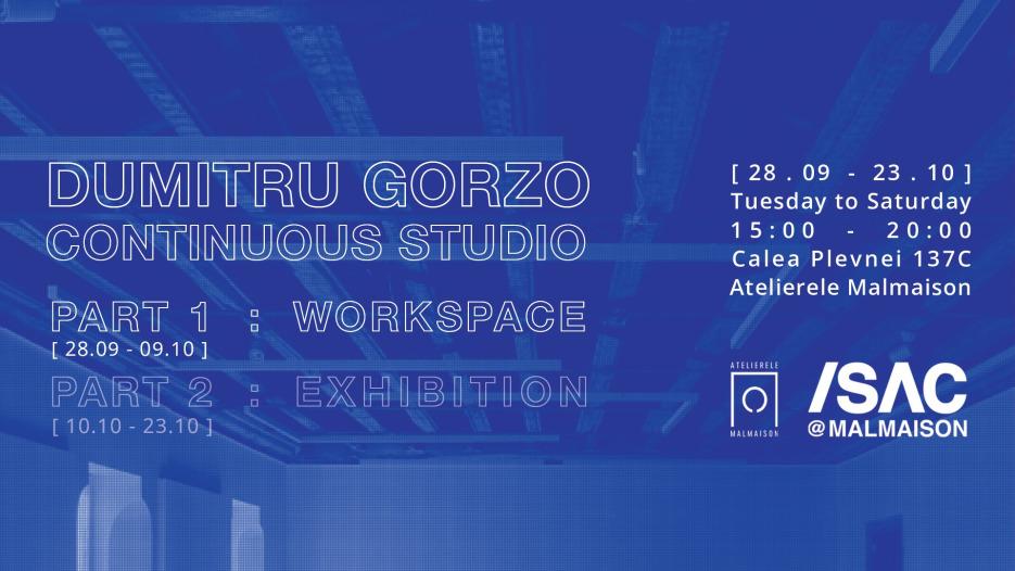 Gorzo | Continuous Studio | /SAC @ MALMAISON