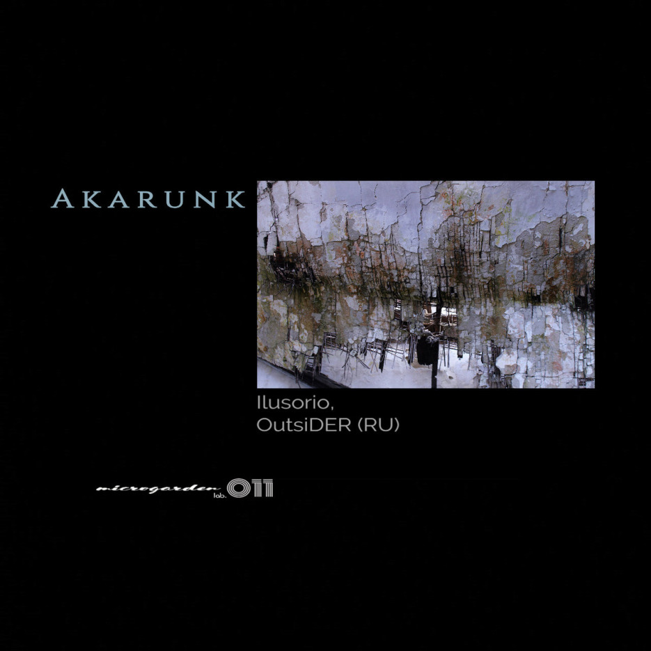 Ilusorio - Akarunk EP / incl. OutsiDER (RU) Remix [Microgarden lab.]