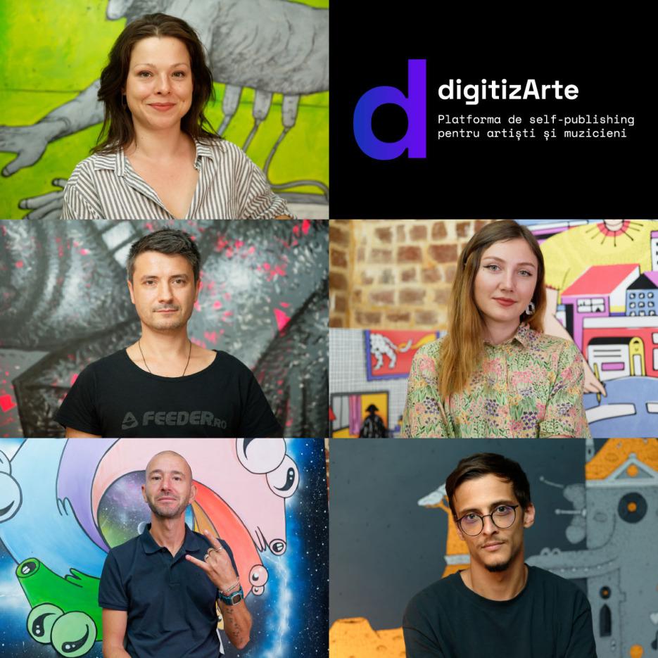 digitizArte ateliere online de self-publishing