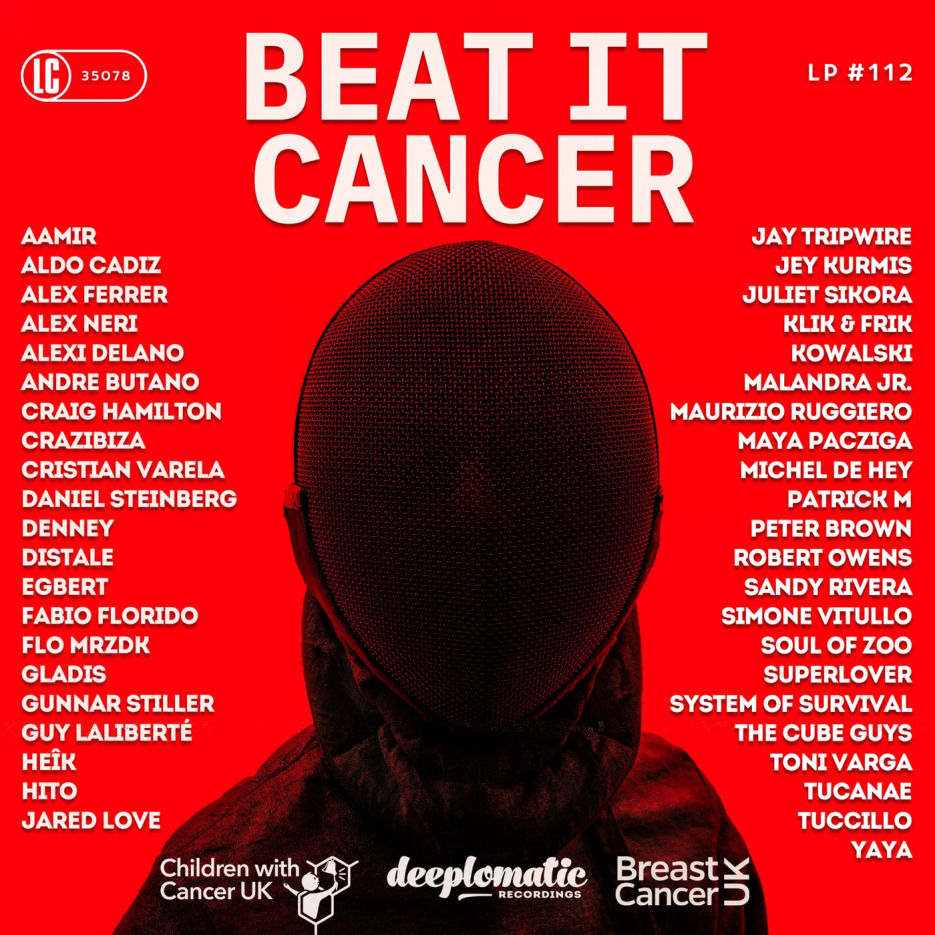 Deeplomatic unites 45 top-notch electronic music artists to raise awareness and funds for the fight against Cancer.